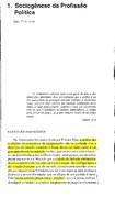 PHÉLIPPEAU, E. Sociogênese da Profissão Política