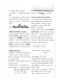 Oscilações - Fundamentos da Física para Geociências II