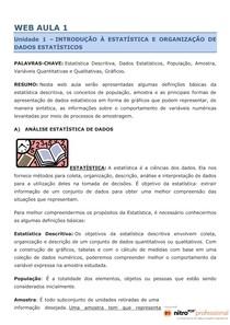 WEB AULA 1 e 2 de Metodos Quantitativos. PDF