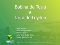 FISICA III - BOBINA DE TESLA E JARRA DE LEYDEN - 16 06 2017