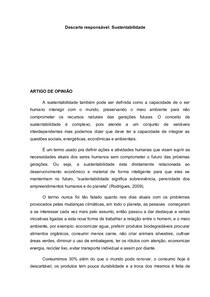 portifolio MEIO AMBIENTE, INOVAÇÃO E SUSTENTABILIDADE