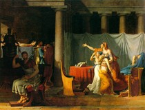 Jacques Louis David -The Lictors Bring to Brutus the Bodies of His Sons