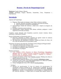 Resumo Fitopatologia Geral