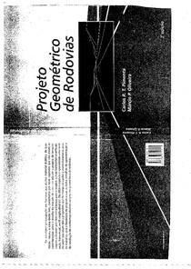 Livro Projeto Geometrico de Estradas