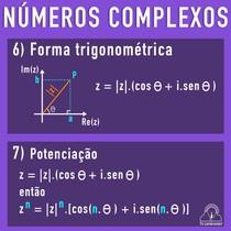 Pacotinho de Números Complexos com Trigonometria (3)
