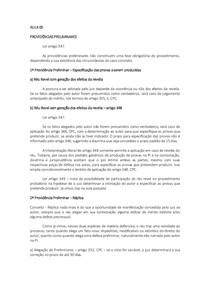 PROCESSO CIVIL II   PROVIDÊNCIAS PRELIMINARES