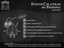 EFEITOS COLATERAIS DO PROPOFOL