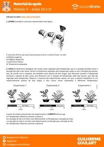 Módulo 5 - aula 32 33 - Fotoperiodismo e germinação