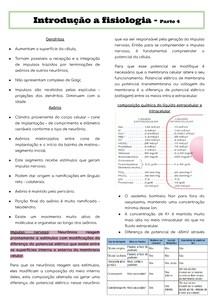 Introdução a fisiologia - parte 4