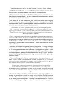 Fichamento de Como se deve escrever a história do Brasil - Von Martius