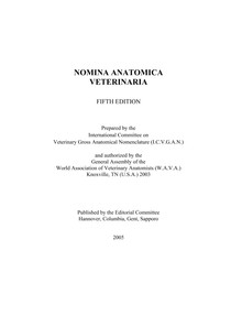 Nomina Anatomica Veterinaria 5th Edition Anatomia Dos Anim 15 It is structurally classified as a synchondrosis, and functionally classified as a synarthrosis. passei direto