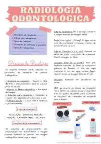 Radiologia odontológica - resumo básico