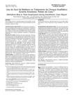 Uso do Azul de Metileno no Tratamento de Choque Anafilático durante Anestesia. Relato de Caso