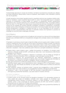 ENDOCRINOLOGIA REPRODUTIVA E CICLO MENSTRUAL