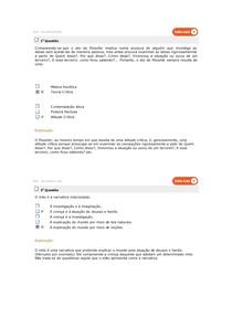 FILOSOFIA TESTE DE CONHECIMENTO BANCO DE DADOS ESTÁCIO 1