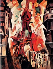 Torre red Eiffel-Robert Delaunay