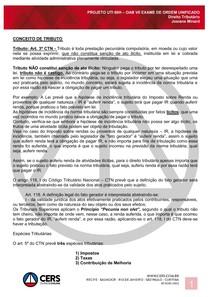 Direito Tributario - Aula 1