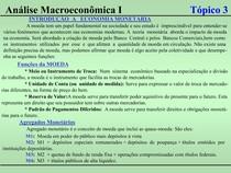 Macroeconomia I - Tópico 03