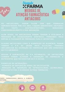 Medidas de Atenção Farmacêutica: Antiácidos