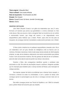 ACO CULTURAL - UMA MENTE BRILHANTE 04-03-18