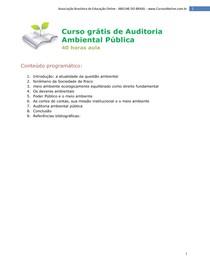 cursos abeline auditoria ambiental
