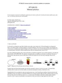 doc iptables firewall