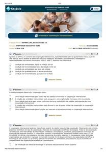 Acordos internacionais AVP COMPLETO