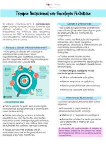 Terapia Nutricional em Oncologia Pediátrica