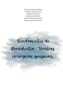 PERIODONTIA-TÉCNICAS CIRÚRGICAS GENGIVAIS