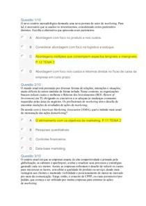 OBJETIVA Accountability Marketing MBA EM ADMINISTRAÇÃO E  MARKETING