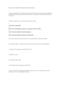 Prova Ferramentas Design Thinking(1)
