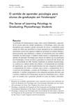 Psicologia e Fisioterapia