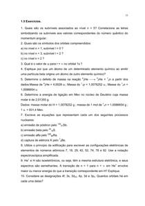 Exercicios de química inorgânica