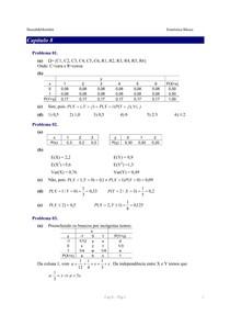 Livro Estatística Básica (Bussab e Morettin) GABARITO - Capítulo 8