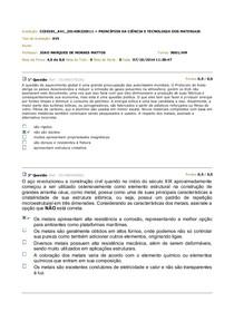 AV1 CIEWNCIA DO MATERIAL