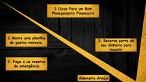 3 Dicas Para um Bom Planejamento Financeiro