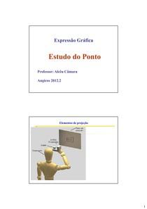 Expressão Gráfica - estudo do ponto -