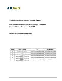 Procedimentos de Rede - ONS - Módulo5 Revisao4