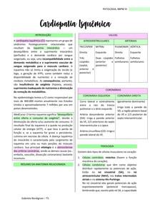 Cardiopatia Isquêmica, PATOLOGIA - BBPM III