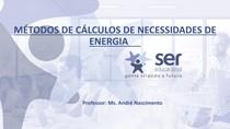 Aula 2 - Mét de calculos das necessidades energéticas