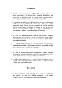ED - TEORIA GERAL DO DIREITO CIVIL 2° Semestre UNIP