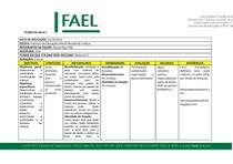 Planos de aula FAEL