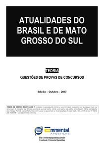 3 EA TLQ Atualidades do Brasil e de MS UFMS Classe C NF 2017 Demonstracao