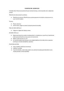 FILOSOFOS PRE-SOCRATICOS (filosofia)