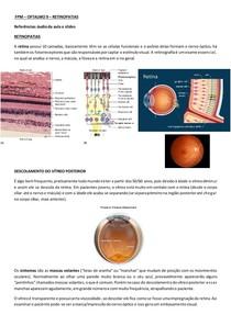 FPM - Oftalmo 10 - Retinopatias