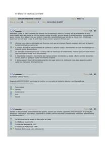 AV Ensino em creches e ed infantil 2014.3