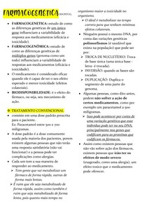 FARMACOGENÉTICA - ODONTOG