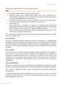 PDF Resumo AINEs e imunossupressores