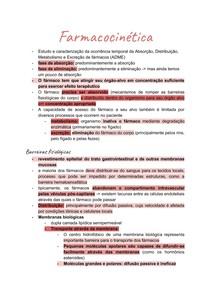 Farmacologia_ Farmacocinética