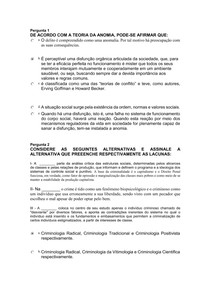 TESTE TEORIAS DO CONSENSO